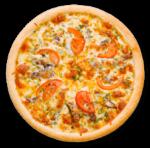 Pizza saumon Coutances